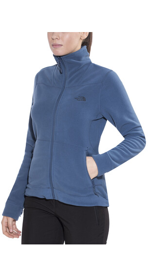 The North Face 200 Shadow Full Zip Women Shady Blue